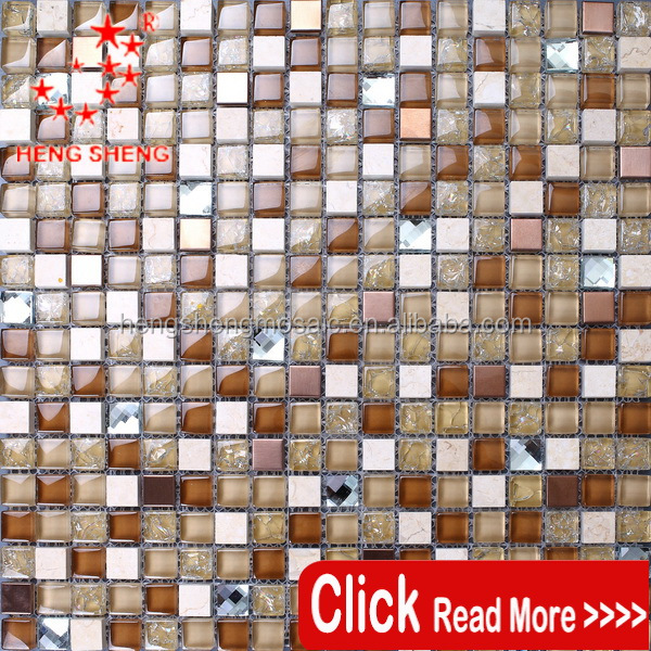 Bathroom Wall Tiles gold cracked cheap grey glass mosaic tiles philippines for Interior Decoration
