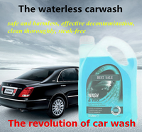Waterless Car Wash And Clean Car Care Product