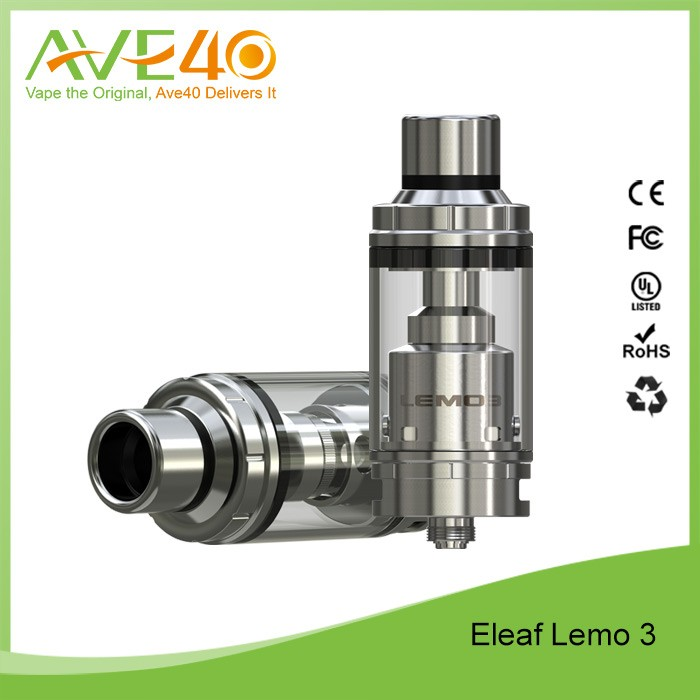 2016 New released LEMO 3 Eleaf Lemo 3 Atomizer / Ismoka Lemo 3 rebuildable RTA e-cig
