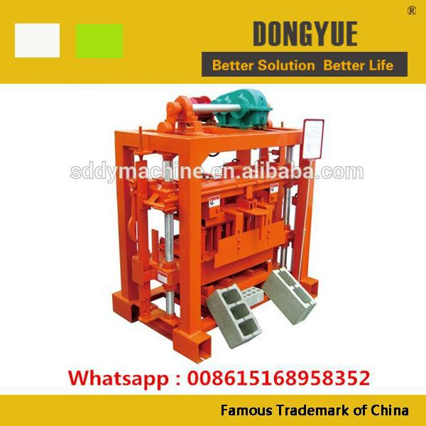 QTJ4-40 small investment block machine hot sale in africa market