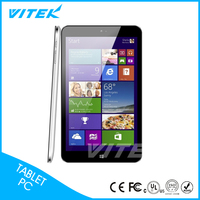 "8"" Dual Camera CE ROHS Window 8 Tablet With Cover"