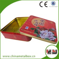 Full Color Printed Canned Food Beautiful The Tin Can/Moon Cake Box