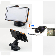"5"" touch screen 128M/4GB Buetooth AV-IN WINCE6.0 FM Free Maps GPS Track Car Navigator+Parking Rear View Camera"