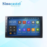 7 inch double din touch screen car stereo car radio TV DVD player with GPS bluetooth