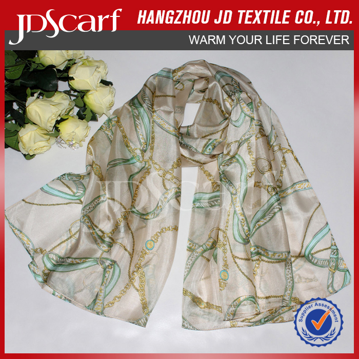 Hot sale factory direct new style blank silk scarves wholesale
