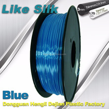 High quality 1kg 1.75 3d printing filament Polymer composite like silk filament 3mm