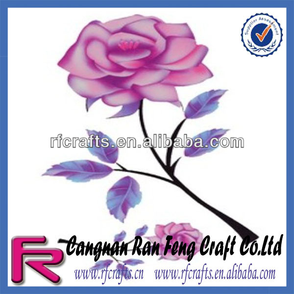 2014 Popular Rose Tattoo Sticker