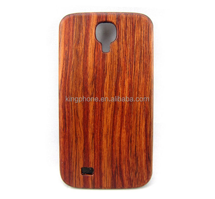 PC stick rosewood Case for Samsung galaxys4