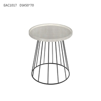 Popular homeware decorative round natural concrete table from china factory