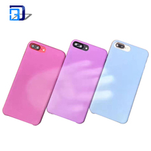 2017 new arrivals mobile phone accessory creative light sensitive color changing phone case for iPhone 7