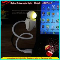 Cute Robot Baby led promotional night lights best selling premium