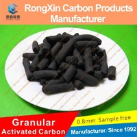 Black Irregular Granular Activated Carbon from Coal
