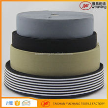 Chinese factory 1 Inch Woven Twill Elastic Band For Garment