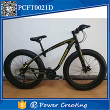 modern style powercreating brand bicycle 26inches 21 speed steel frame fat tire bike