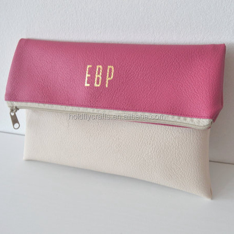 Wholesale PU Leather Personalized Ladies Clutch Purse
