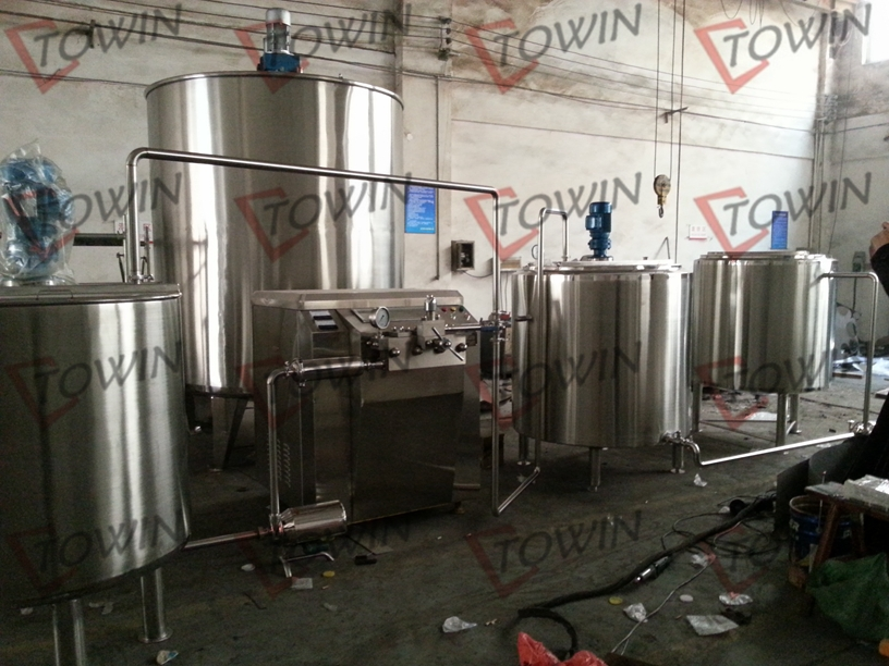 mini dairy processing equipment/small milk processing plant