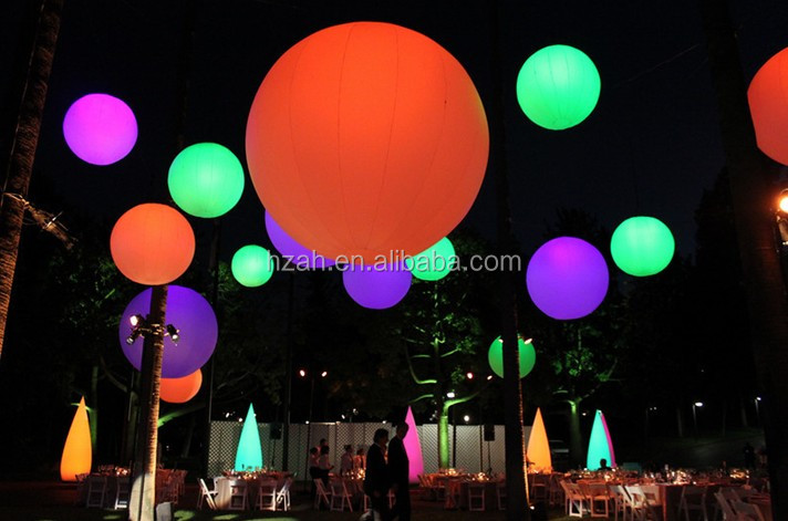 Lighting Decoration Self Inflating Balloon