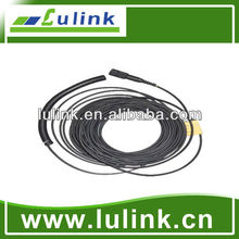 Double core circular Armored fiber optic jumper cable