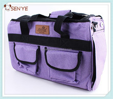 Popular dog carrier, pet dog handbag with two pockets