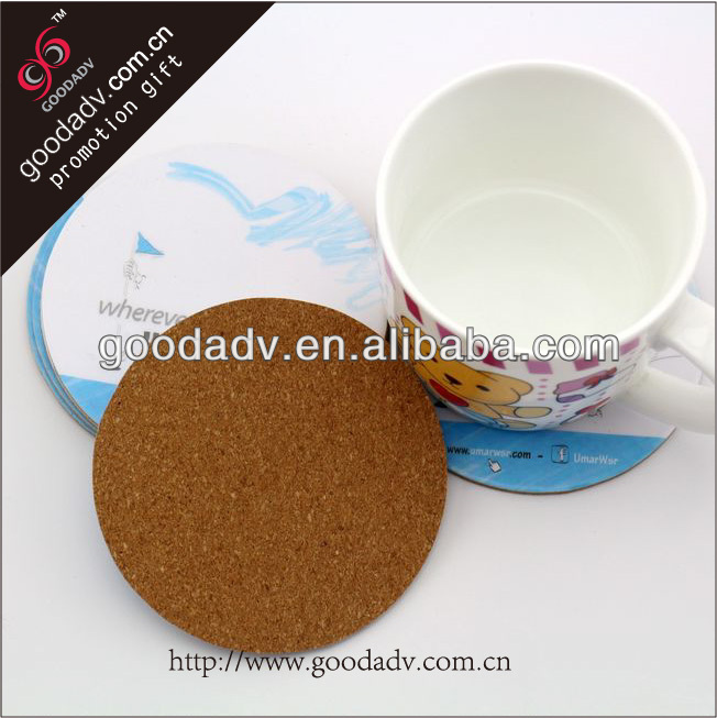 Home fashion gifts Eco-friendly Insulation waterproofing hardboard coaster