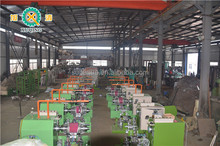 Automatic Bicycle Tyre Spring Turn-up Building Machine With Ply Servicer/forming Making Machine