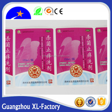 Chinese imports shrink film label wholesale customized printed clear plastic PET bottle shrink wrap sleeves label