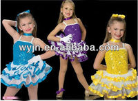 2014 - new adult flower fairy costume -girls' dance costume-practice skirt-children and adults