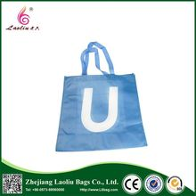 Environmental foldable reusable cheap non woven shopping tote bag
