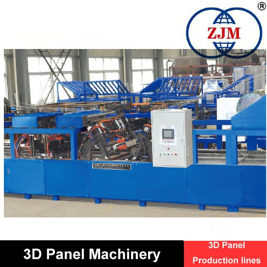 Competitive Assembling 3D Panel production line