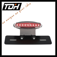 motorcycle accessaies bright motorbike tail light universal for street bike