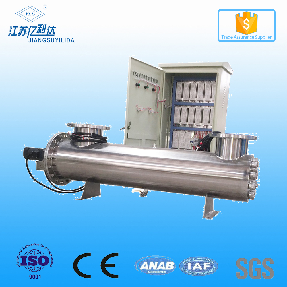 Industrial Ultraviolet UV Water Sterilizer For Waste Water Treatment Plant
