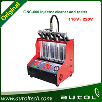 2016 to Test and Clean Injectors on Gasoline cars Injector Cleaner & Tester CNC600 Ultrasonic cleaning