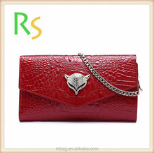 Fashion designer high quality chain RFID wallet you can track wallet with phone pocket wallet bottle opener