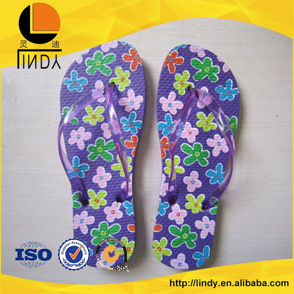 China whosalepvc printing eva house slippers shoes and slippers