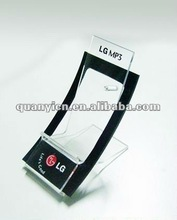 Customized transparent acrylic mobile phone stand