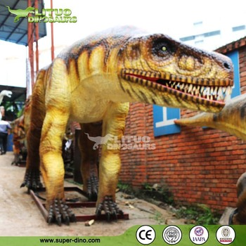 Zigong Park Playground Equipment Mechanical Dinosaur
