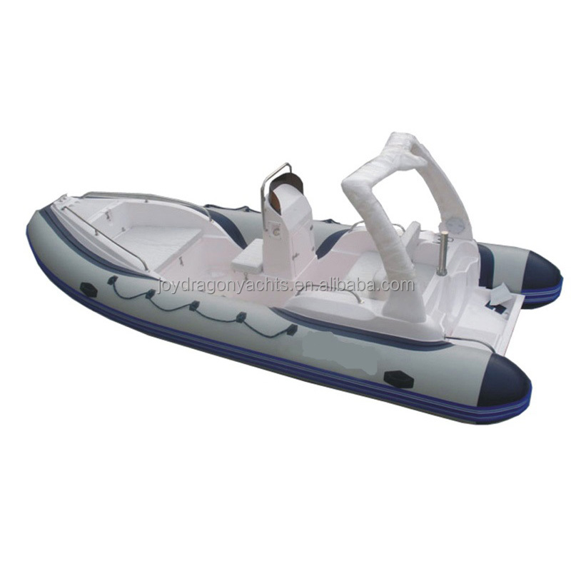 high quality fiberglass Inflatable boat with CE
