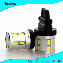 good quality one year warranty 9 pcs of samsung 5730 led t20 w21/5w 7443 led 1156 1157 3156 3157
