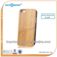2103newest wooden case for iphone 5/5s, Waterproof wooden Case for apple iphone5,top quality combo case for iphone5