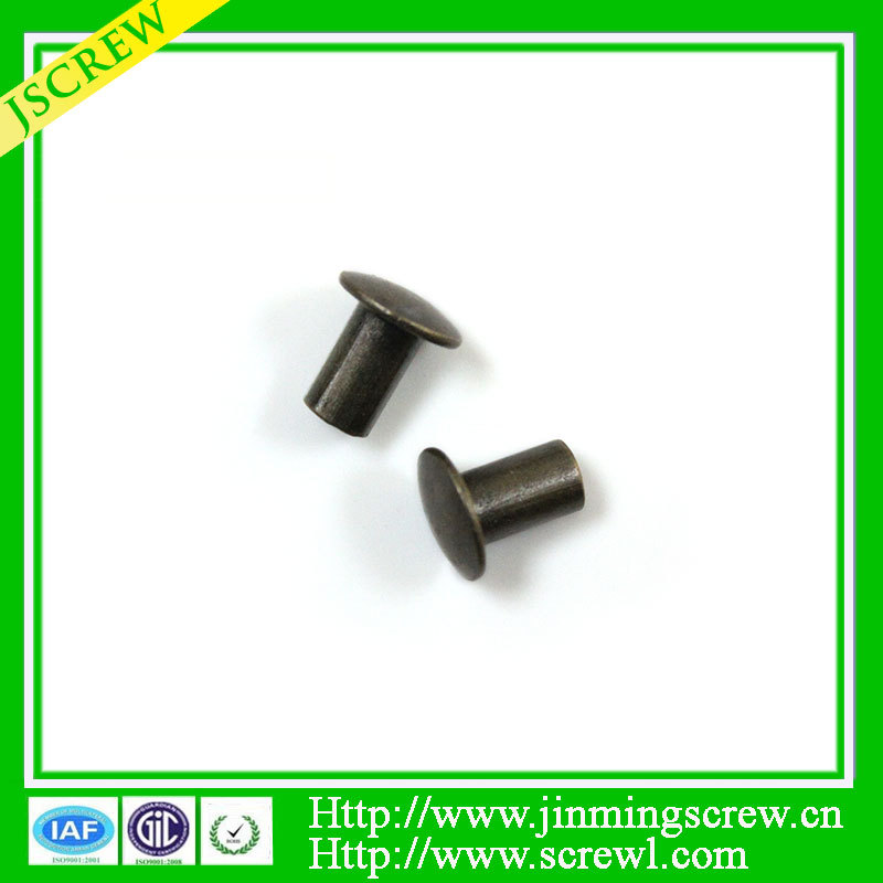 low price round head copper rivets