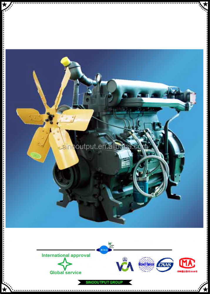 Deutz diesel engine TD226B-6G 6 cylinder engine for sale