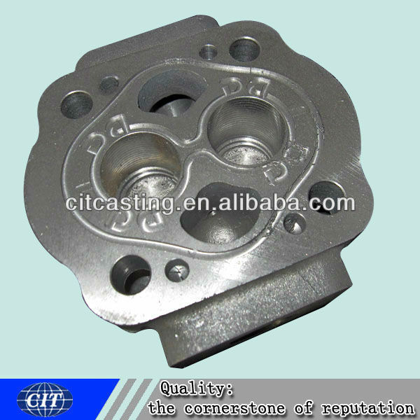 cylinder head CNC machining parts engine part