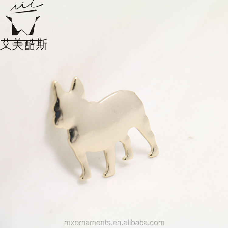 Spring fashion Metal hair pin with dog shaped