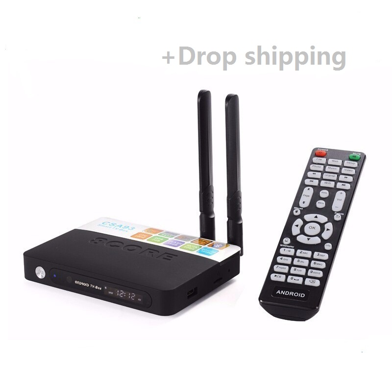 CSA93 Amlogic S912 Octa Core Android 6.0 TV Box BT4.0 2.4G/5.8G Dual WiFi H.265 4K 1000M Smart Meida Player -XTA02