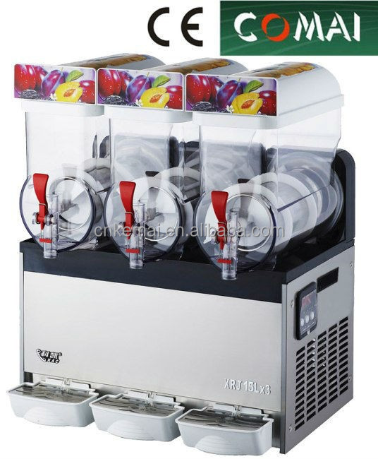 3 bowl frozen drink machine slush granita machine margarita machine
