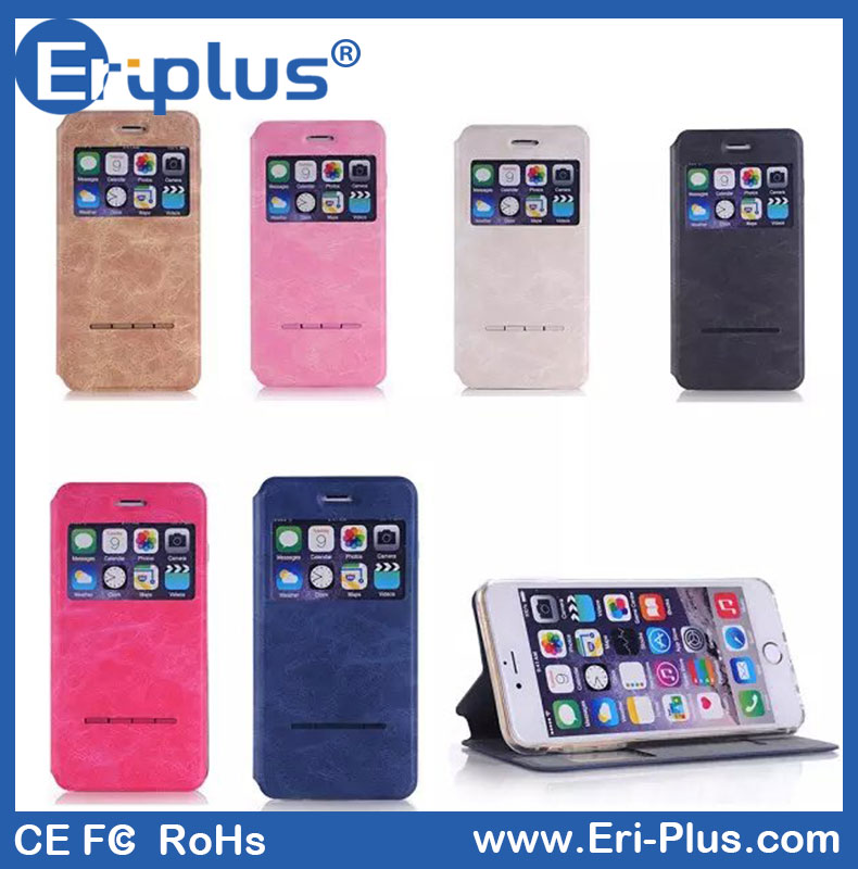 Eri-plus Shock Absorber Book Case For Samsung Galaxy i8562 Cell Phone