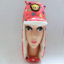 Factory wholesale knit winter children hats and kid caps