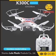 Novelty toys from china quardcopter alibaba express brasil kidstoys Rc helicopter headless 4 Axis 0.3MP camera k300 quadcopter