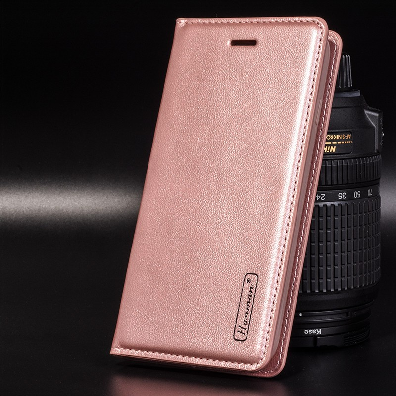 New design genuine pu leather cell phone case for iphone 7