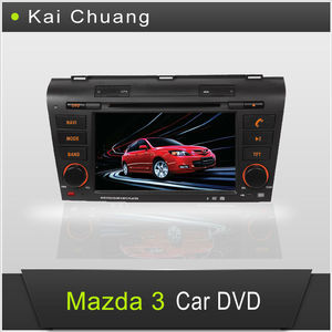 Wonderful Mazda 3 Car Stereo DVD with GPS 7inch Touch Screen